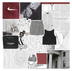 """""""let's get out of this place. ☆"""" by i-get-lost-sometimes ❤ liked on Polyvore featuring NLXL, Chanel, Zara, Samsung, Monki and Assouline Publishing"""