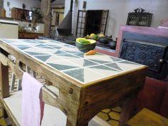 mesas com azulejos - Pesquisa Google