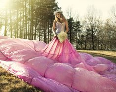 Parachute Skirt Outdoor Photography Pink Styling/Concept/Photo by Marie Otero; Model Savannah Lambert; Hair and Makeup by daniellelazaro.com