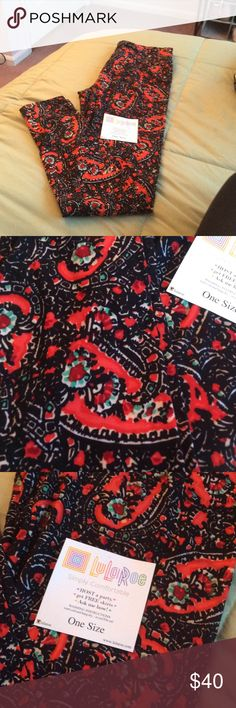 NWT Lularoe OS Leggings Brand new and never worn or tried on. 💜PRICE IS FIRM💜 LuLaRoe Pants Leggings