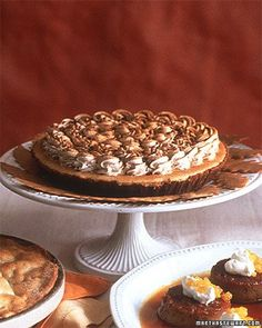Pumpkin-Mousse Pie Recipe