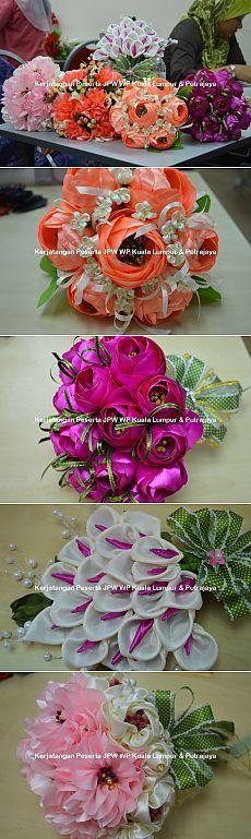 Цветы из ткани. Новые работы от Suzana Mustafa