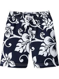 Hibiscus Swim Trunks for Baby | Old Navy
