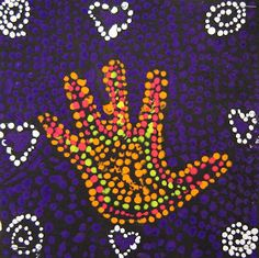For the Love of Art: 3rd Grade: Australian Dot Painting