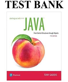 Starting Out with Java: From Control Structures through Objects, Edition Solutions Manual + Test Bank by Tony Gaddis Free Pdf Books, Free Ebooks, Computer Technology, Computer Science, Introduction To Programming, Object Oriented Programming, Good Grades, Student Life, Free Reading