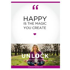 Weekly Happy Talk-Christa Melton Find your Magic today. http://unlock-home.com/