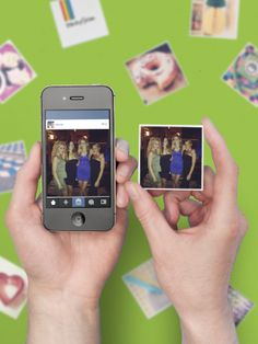 This website turns your Instagrams into little magnets! January sale now on.