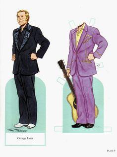 Famous Country Singers ~ George Jones