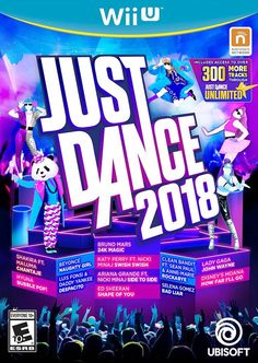Just Dance 2018 will be available in North America for Nintendo Switch, Wii U, Wii, Xbox One, Xbox PlayStation and PlayStation 3 on October Just Dance, Wii Dance, Dance Games, Music Games, Nintendo 2ds, Xbox 360, Buy Playstation, Wii U Games, Hot Song