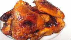 Carmelized baked chicken legs/thigh/wing recipe.  Loved by kids and adultS and so easy & inexpensive to make.