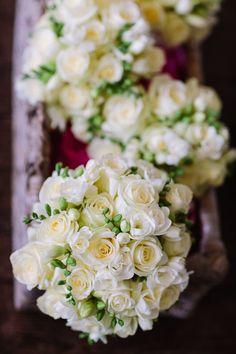 Wedding flowers at Aynhoe Park