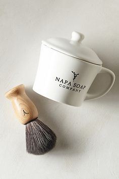 Gifts for Him. Napa Soap Shave Kit   #anthropologie