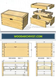 DIY Jewellery Box - Woodworking Plans and Projects | WoodArchivist.com