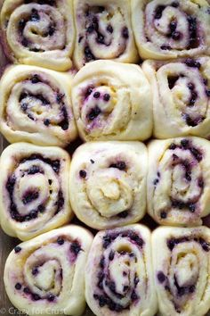 There is lemon in every bite of these Lemon Blueberry Sweet Rolls! Lemon in the dough, the filling, and the frosting, along with blueberries!