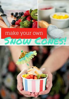 HGTV Crafternoon: Make Your Own Snow Cones (in a Blender!) http://blog.hgtv.com/design/2015/02/04/make-snow-cone-syrup-with-blender/  Young House Love  http://idealshedplans.com/storage-shed/