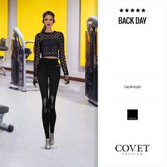Covet Fashion Game. Look: Back Day