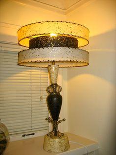 3 tier fiberglass Caitlyn, Portland OR Funky Lamps, Cool Lamps, Unique Lamps, Cheap Office Decor, Cheap Bedroom Decor, Lampe Applique, Mid Century Modern Lamps, Farmhouse Lamps, Retro Lighting
