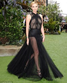 Charlize Theron in Christian Dior Couture at the world premiere of Snow White and the Huntsman in Leicester Square