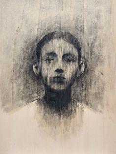 drawing by Bruno Walpoth Life Drawing, Figure Drawing, Painting & Drawing, Abstract Portrait, Portrait Art, Portrait Sketches, Italian Artist, Gravure, Art Plastique