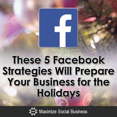 For big corporations like Walmart and BestBuy, planning six or more months in advance for the holidays is normal. Why isn't the case the same for small businesses?