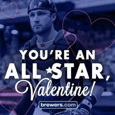 #Brewers #Valentine #ValentinesDay #JonathanLucroy #Lucroy