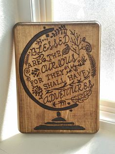 Blessed are the curious for they shall have by BrennenCo on Etsy
