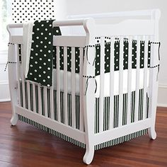 Black and White Dots and Stripes Mini Crib Bumper Carousel Designs http://www.amazon.com/dp/B00L88YDHO/ref=cm_sw_r_pi_dp_TdYXtb1HQRKN4A0G