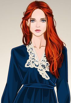Character Inspiration, Character Art, Character Design, Morgana Le Fay, The Selection Book, Call Of Cthulhu Rpg, Redhead Art, Bright Red Hair, Game Of Thrones Art
