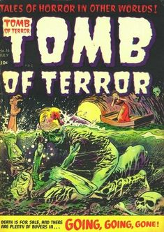 Cover for Tomb of Terror (Harvey, 1952 series) #16