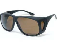 Cocoons Live Eyewear Sunglasses Aviator (Extra Large) Black Frame with Polarized Amber Lenses C202A Live Eyewear. $49.95
