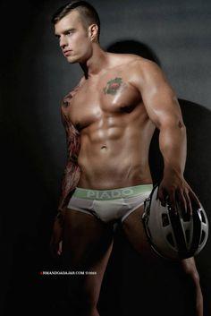Robert Westbrook Wears Piado Underwear