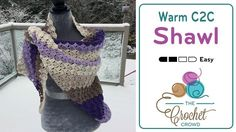 The Crochet Crowd is community-focused for crochet with supporting free patterns and tutorials. Videos hosted by Mikey. Mikey, aka Michael Sellick, is Canadi. Crochet Crowd, C2c Crochet, Crochet Videos, Crochet Hooks, Crochet Shrugs, Crochet Triangle, Triangle Scarf, Crochet Beanie, Crochet Prayer Shawls