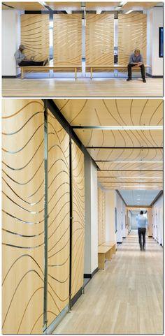 Nice effect - inspirational for foil - divisiones en oficinas. Inside Meltwater's San Francisco Offices