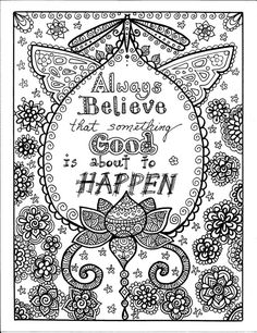 ☮ American Hippie Art Coloring Page ☮  Good Things