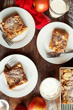 Save the recipe! German Apple Cake, Best Dishes, Recipe Of The Day, French Toast, Sweets, Breakfast, Desserts, Recipes, Food