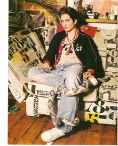 I knew he was weird now, but apparently he has always been.......Robert Pattinson