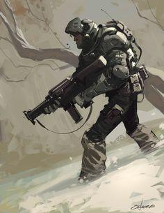 Soldier by Crazymic on DeviantArt