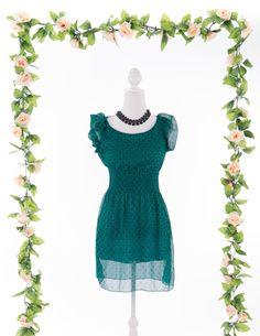 Vestido Little Dots #bazar www.gunadress.com.br