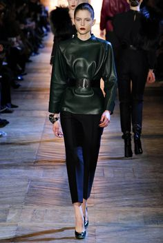 Saint Laurent Fall 2012 Ready-to-Wear Fashion Show - Kel Markey
