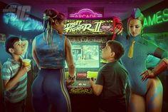 Jeff Chapman, Street Fighter Video Game, Super Street Fighter, Cammy Street Fighter, Retro Videos, Retro Video Games, Chun Li, Super Nintendo, Bartop Arcade