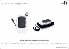 XDDESIGN Emergency Battery for corporates by Crea - India's smartest brand merchandising company.