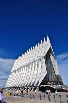 Air Force Academy Chapel. Colorado Springs, CO.