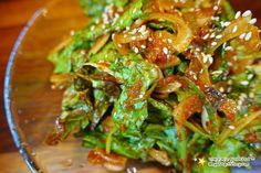Seaweed Salad, Japchae, Cooking, Ethnic Recipes, Korean, Food, Kitchens, Kitchen, Korean Language