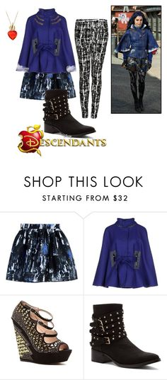 """descendants"" by maria-cmxiv on Polyvore featuring McQ by Alexander McQueen, Disney, Jacob Cohёn, BCBGMAXAZRIA and Penny Loves Kenny"