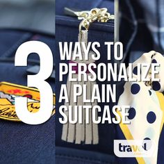 3 Cute Ways to Spot Your Suitcase