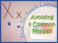 Avoiding common pitfalls when teaching letters to preschoolers