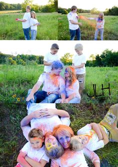 Powdered Paint Engagement Pictures! We had so much fun taking these! Check out my page on Facebook- JLH Photography- Mt. Pleasant, TX