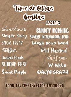 Bullet Journal Banner, Bullet Journal Notes, Bullet Journal School, Pretty Notes, Cute Notes, Good Notes, Life Hacks For School, School Study Tips, Aesthetic Fonts
