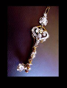 Druzy crystal earrings blue druzy post by CindersJewelryDesign