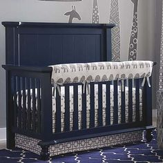 4 in 1 Convertible Wakefield Crib by Bassett Furniture Can be
